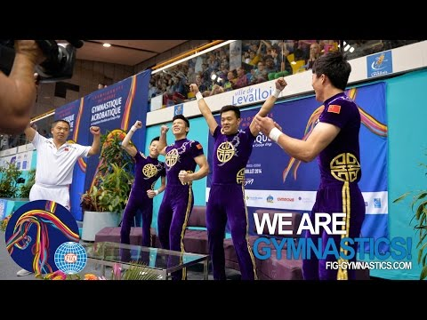 HIGHLIGHTS - 2014 Acrobatic Worlds, Levallois-Paris (FRA) - Men's Groups - We are Gymnastics!
