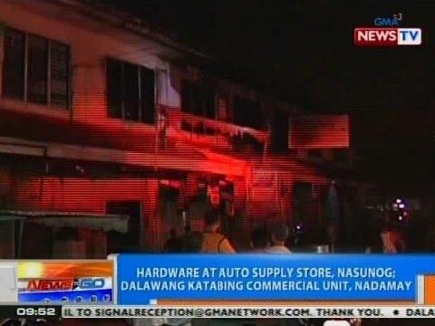 NTG: Hardware at autosupply, nasunog sa Sta. Ana, Manila