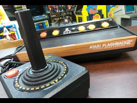 Classic Game Room - ATARI FLASHBACK 2+ console review