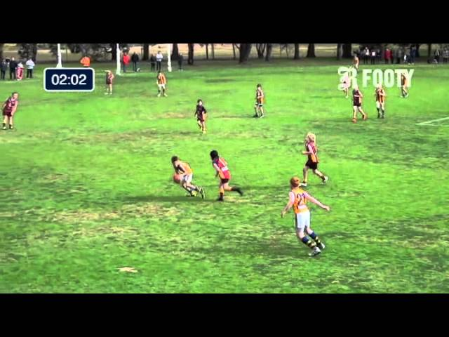 2013 SMJFL Grand Final Under 11 North - Murrumbeena Gold V East Sandringham North