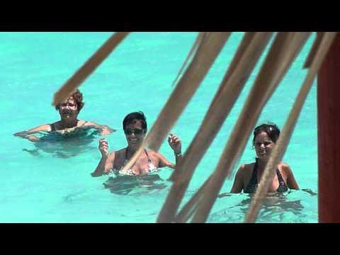 Aquaforme dans la mer du Melia Las Dunas