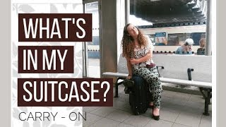 PACK WITH ME!   Travelling Europe in a Carry-On Suitcase!