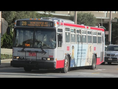 Buses in San Francisco, CA (Volume Seven)