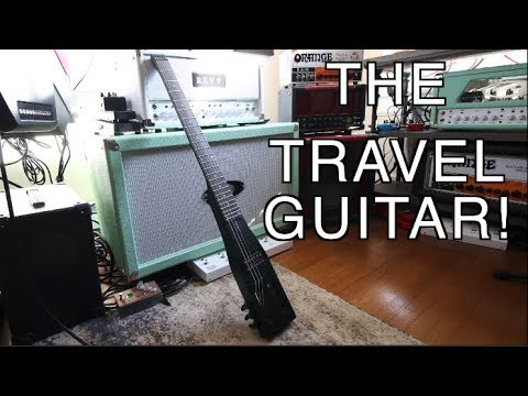 This Travel Guitar Sounds Amazing! ( Anygig AGE SE)