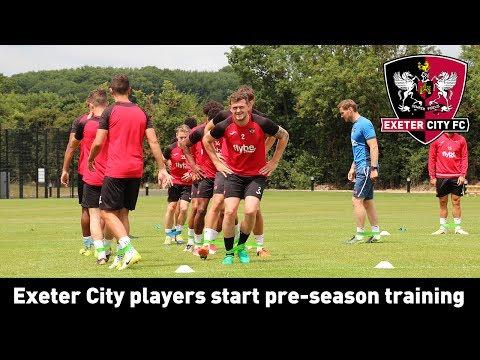 Grecians begin pre-season training | Exeter City Football Club