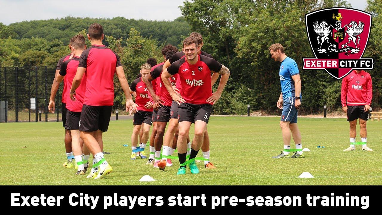 Grecians begin pre-season training | Exeter City Football ...