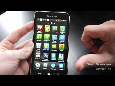 Samsung Galaxy Player 5.0 Hands-on Review