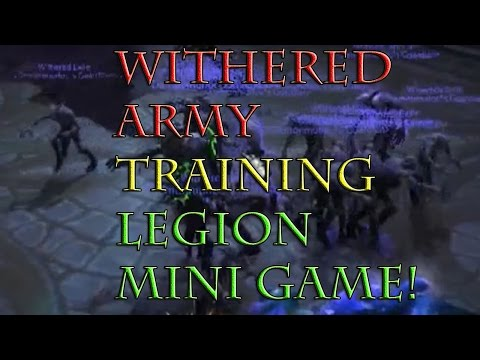 COMPLETE WITHERED TRAINING SCENARIO WITH SECRET ROOM!