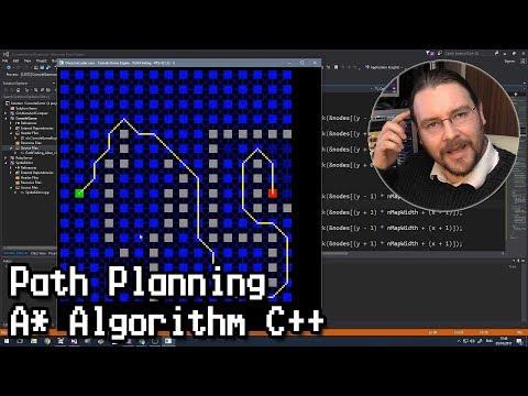 Path Planning - A* (A-Star)