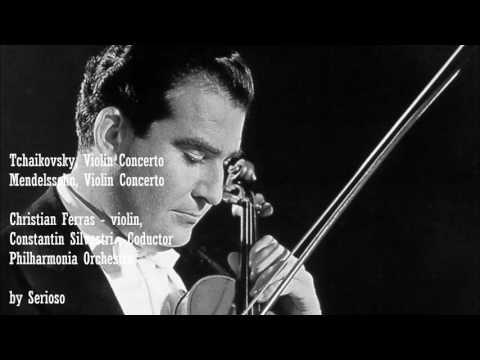 Tchaikovsky,Mendelssohn Violin Concertos, Ferras
