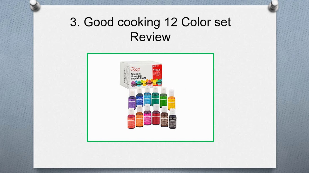 Top 10 Best Natural Food Coloring Reviews in 2019 - YouTube
