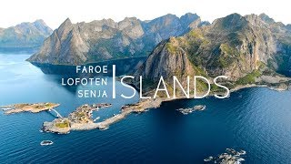 Northern Islands 4K Drone Faroe, Lofoten & Senja