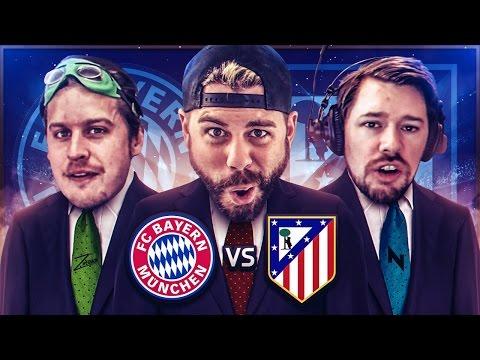 REACTING TO BAYERN MUNICH vs ATLETICO MADRID with ZwebackHD + NepentheZ - Champions League Challenge