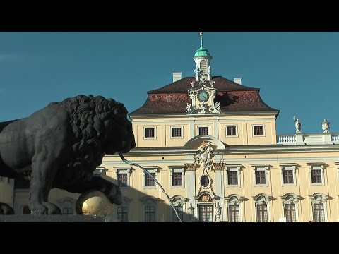 Germany - state of Baden-Württemberg city of Ludwigsburg at Neckar river