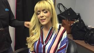 Making Of/ Mafer Rios canta Corazón Valiente en acústico