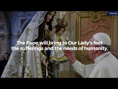 Pope Francis To Lead Worldwide Rosary Vigil On May 30