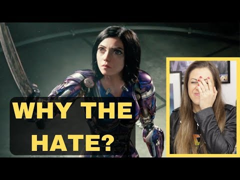 STOP HATING ON ALITA BATTLE ANGEL !!!!