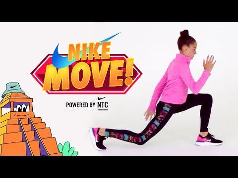 Nike l Nike Move! Powered by NTC: Ashanti