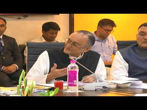 Amit Mitra, Minister for Finance, West Bengal, at the Conclave of Finance Ministers