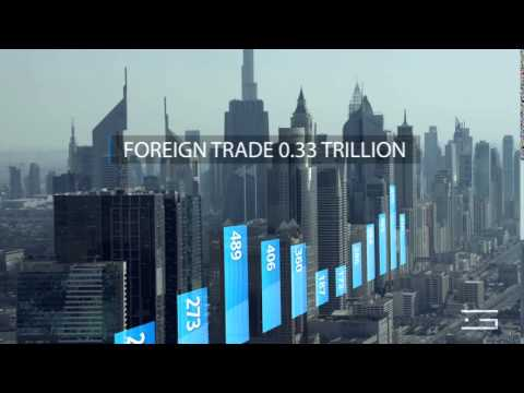 Dubai Financial Infographic Animation