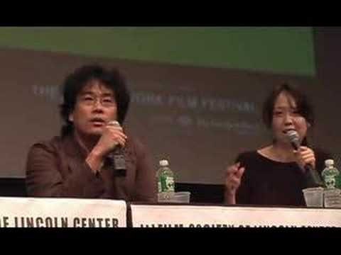 Bong Joon-ho Talks About  THE HOST