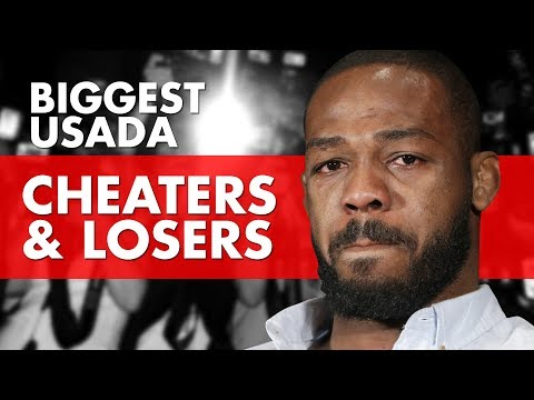 10 Biggest USADA Cheaters and Losers In MMA