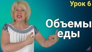 Изменение ОБЪЁМОВ ЕДЫ во время похудения. ЕЛЕНА СТЕПАНОВА. ( Урок 6 )