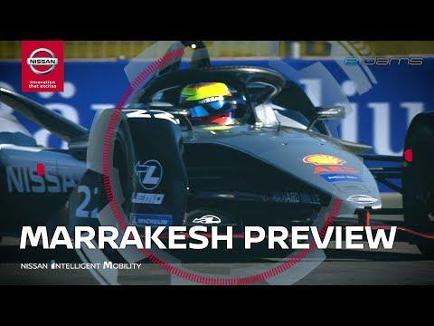 Nissan e.dams Marrakesh Formula E Preview