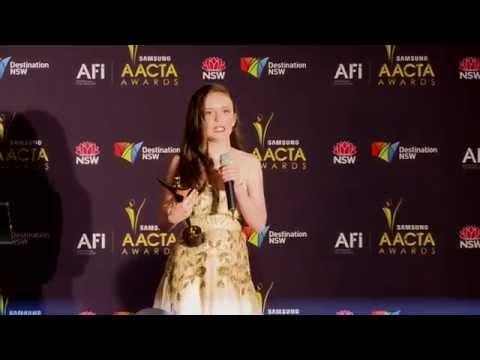 AACTA Award 2012  Lara Robinson  Best Young Actor.mp4