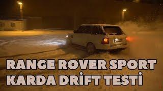 Range Rover Sport Snow Drift