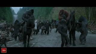 Планета обезьян- Война — Новый 4-й трейлер (2017)