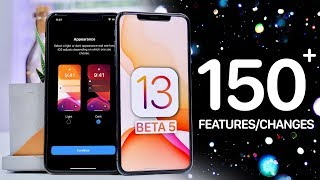 iOS 13 Beta 5! 150+ New Features & Changes Video