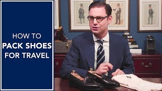 How To Pack Shoes For Travel | Kirby Allison