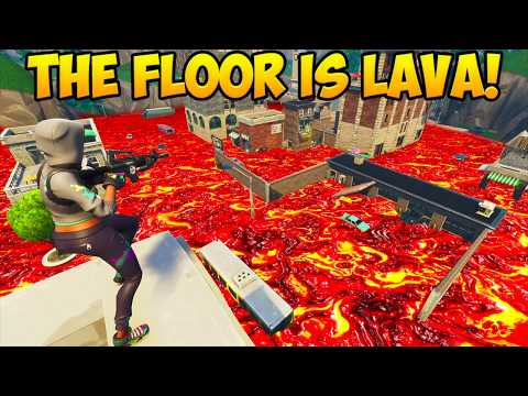 ENTIRE MAP IS MADE OUT OF LAVA! - Fortnite Funny Fails and WTF Moments! #225 (Daily Moments) thumbnail