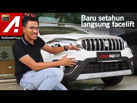 Suzuki SX4 S-Cross Facelift 2018 First Impression Review by AutonetMagz