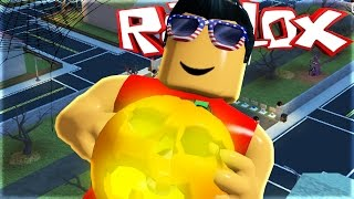LET'S GO TRICK-OR-TREATING!!   Roblox Duck Duck's Halloween Town