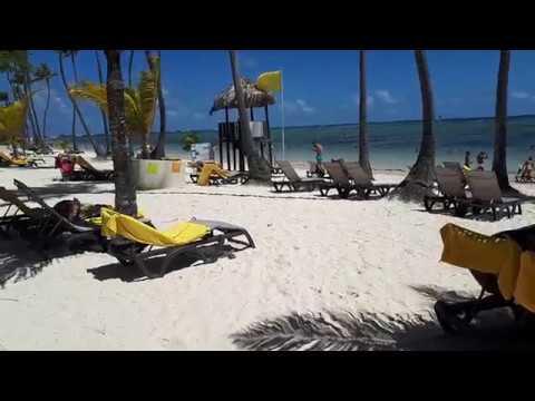 Супер ПЛЯЖ, ПЕСОК, Классный ОКЕАН в Доминиканской Республике - ПУНТА-КАНА, Barcelo Bavaro Palace 5*!