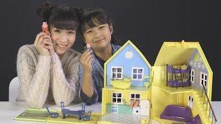《Toy Show#8》一起來我家玩吧!粉紅豬小妹豪華房屋組玩具 Deluxe Peppa Pig Playhouse