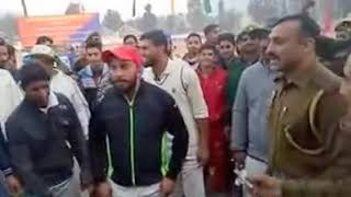 SHO poonch dancing after poonch eleven won the final of police t20 / Must watch and subscribe