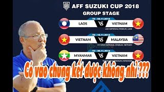 Lịch thi đấu AFF Cup 2018 của Đội tuyển Việt Nam: Lợi thế lớn để vào bán kết