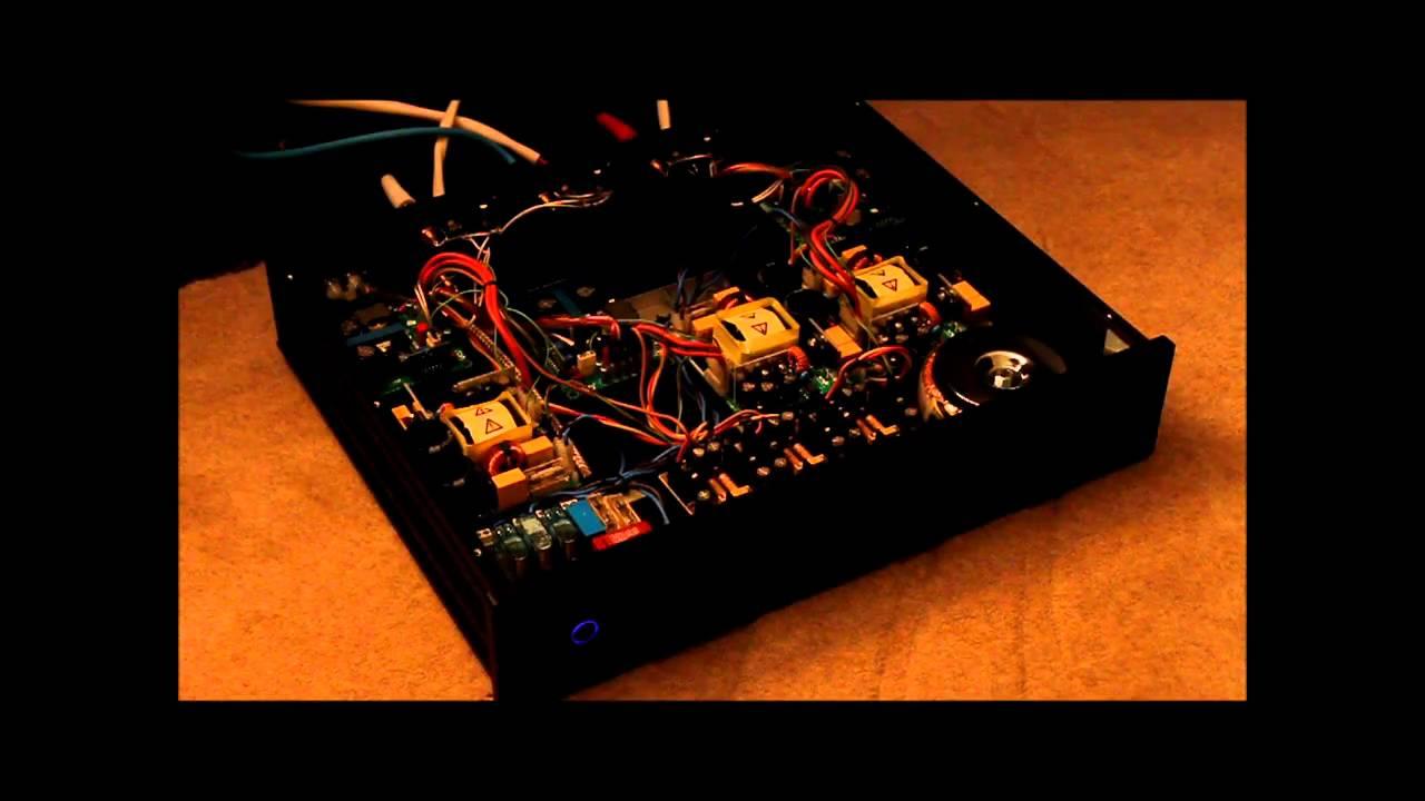 Hypex Ucd400 Amp Startup Youtube 2x100w Class D Amplifier Circuit Hip4081a 200w Power