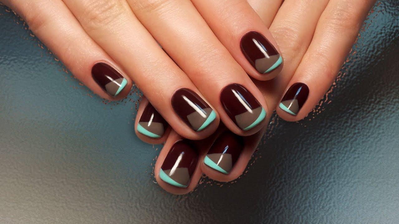 Дизайн ногтей шеллаком (фото) - фото и описание примера