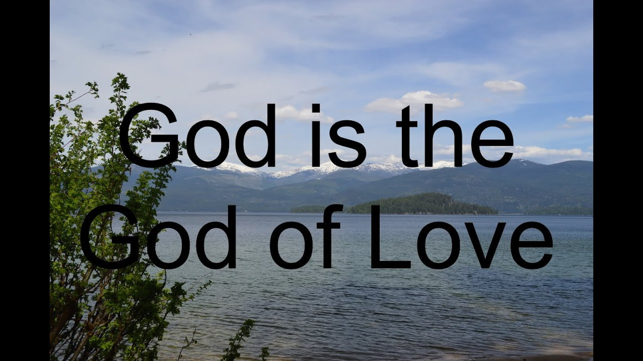 New John 3 16 Christian Song  God Is The God Of Love