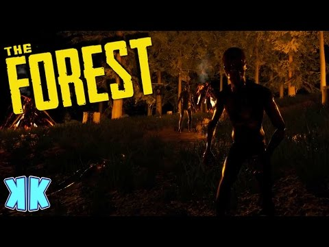 The Forest | ALL NIGHT CANNIBAL FIGHT! | Updated 2016 Gameplay | #29