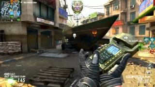 BO2: 194-5 Owning The Spawn! Overflow w/ AN94 (Black Ops 2 Gameplay)
