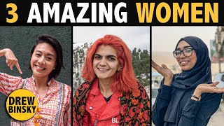 3 AMAZING WOMEN (Pakistan, Yemen, Hong Kong)
