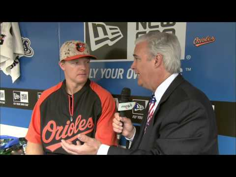 Nick Hundley chats about making his O's debut