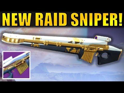 Destiny 2: NEW RAID SNIPER! | Alone as a God Review