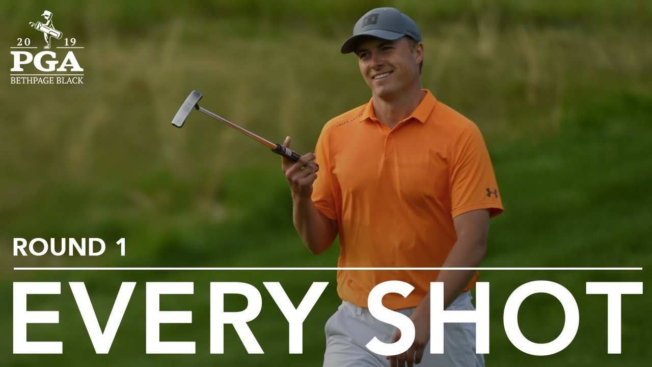 e782c239b3b Jordan Spieth: Every shot in first-round 69 at the 2019 PGA Championship