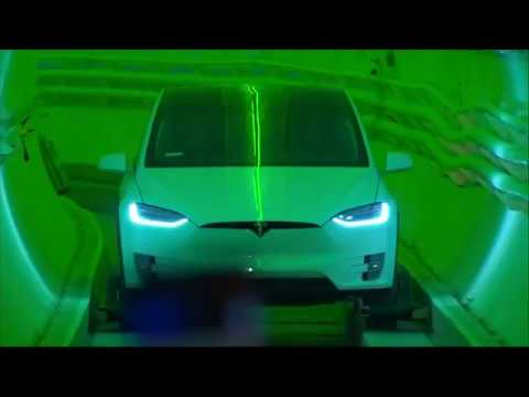 Tesla Tunnel to alleviate traffic congestion and CO2 emission in Los Angeles